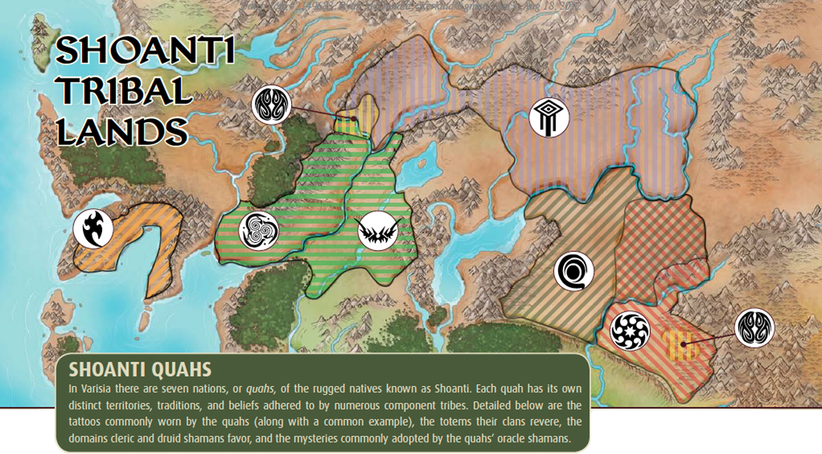 Attractive The Shoanti Are A Barbaric, Often Nomadic People Native To The Storval  Plateau And Velashu Uplands Regions Of Varisia. Like Their Varisian  Cousins, ...