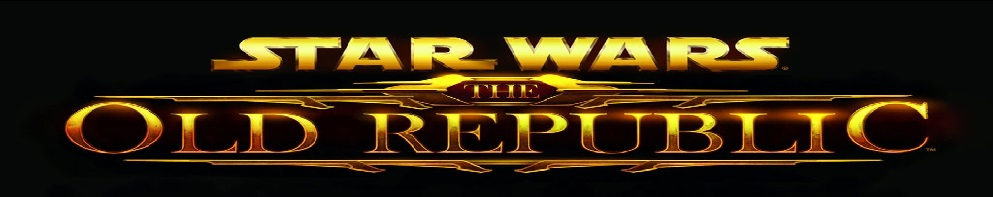 Star wars the old republic logo banner
