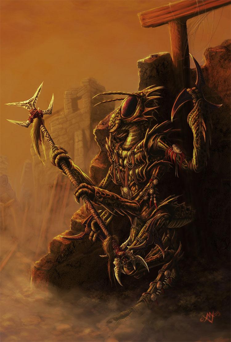 Thri Kreen Dark Sun Obsidian Portal