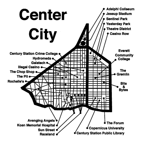 Center City Points of Interest
