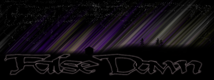 False dawn banner