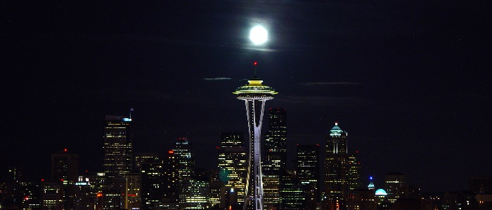 Seattle skyline night2