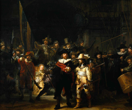 Rembrandt night watch thumb 550x458 7748