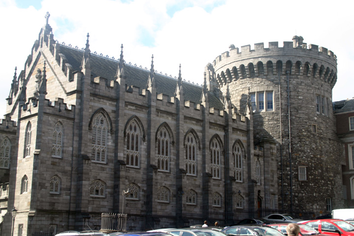 Dublin castle cathedral