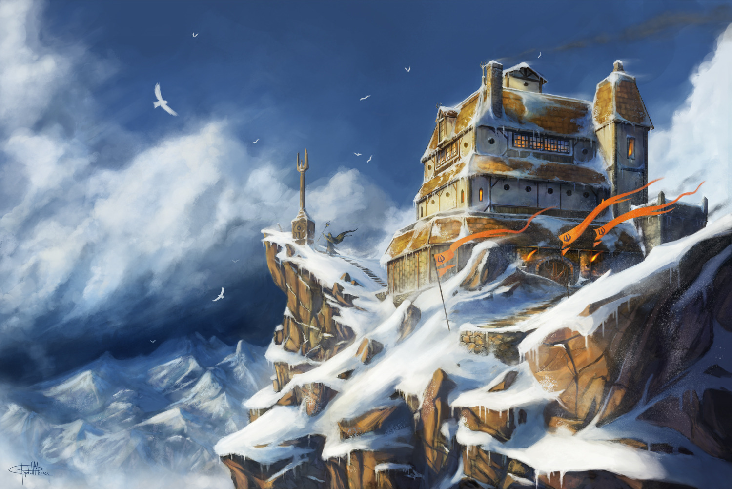 Wintry fortress