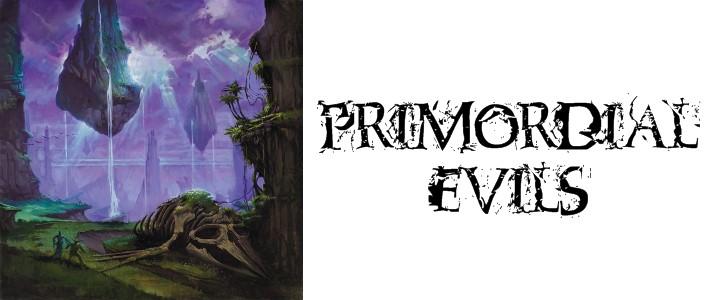 Primordial evils website banner