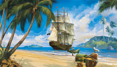 York kids 4 pirate ship ocean beach full wall mural mp4941myk page 133 410x234