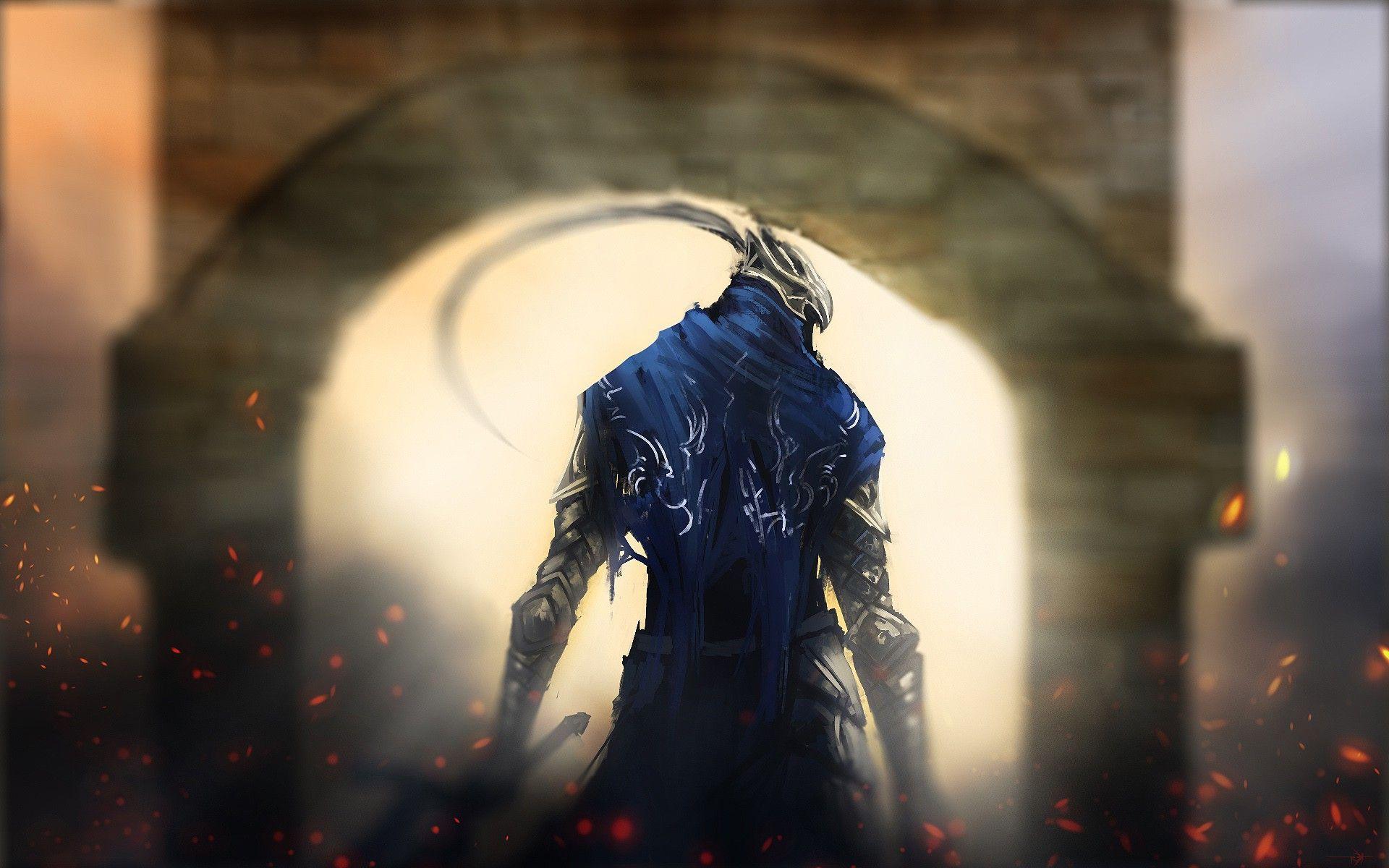 Knight artorias dark souls game hd wallpaper 1920x1200 4891