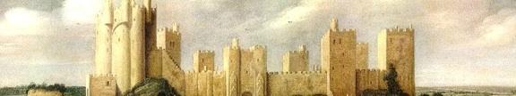 Keirincx painting pontefract castle banner
