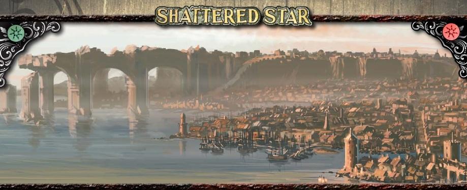 Shattered star banner