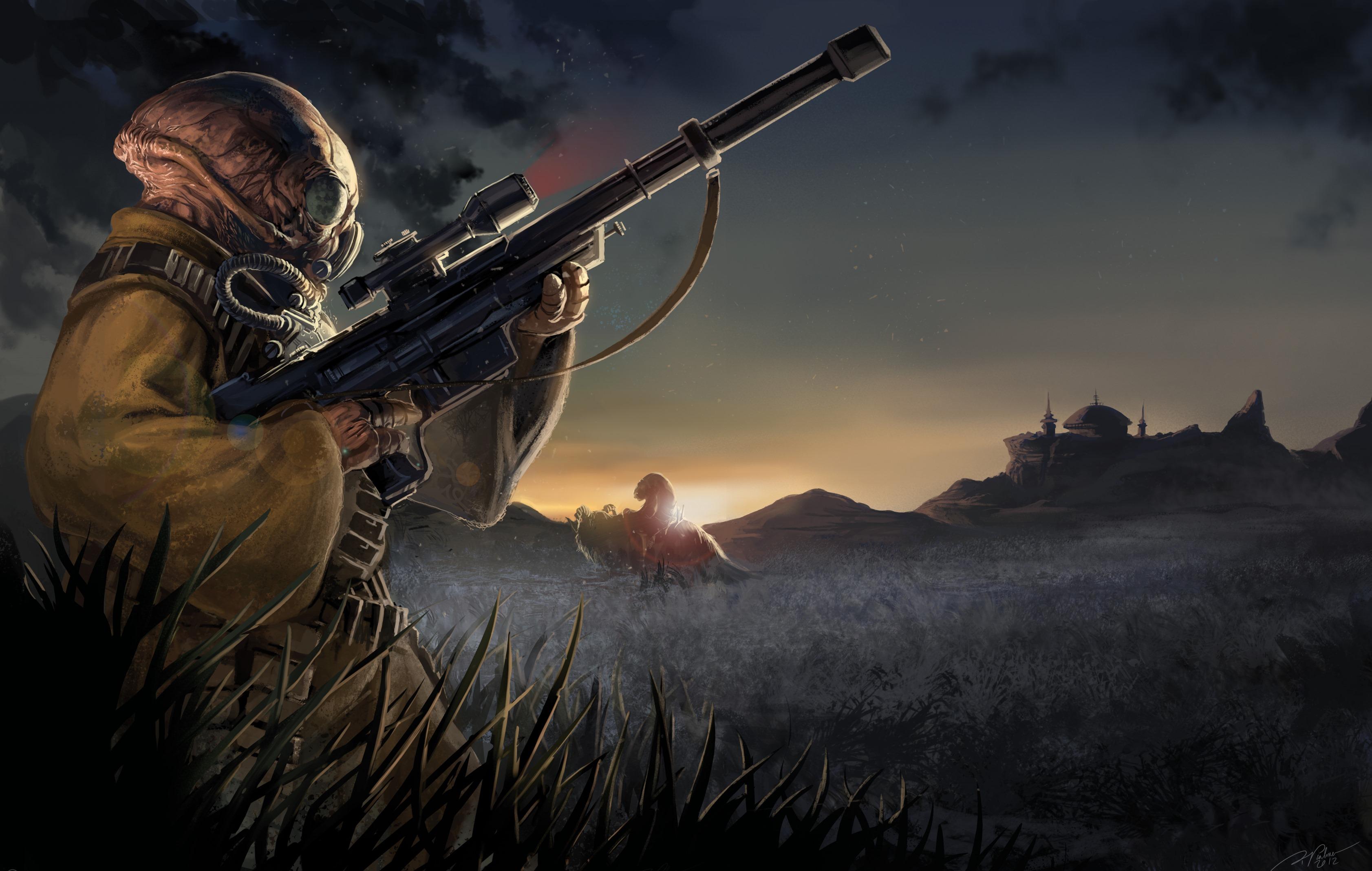 Eote gand bounty hunter by palmer