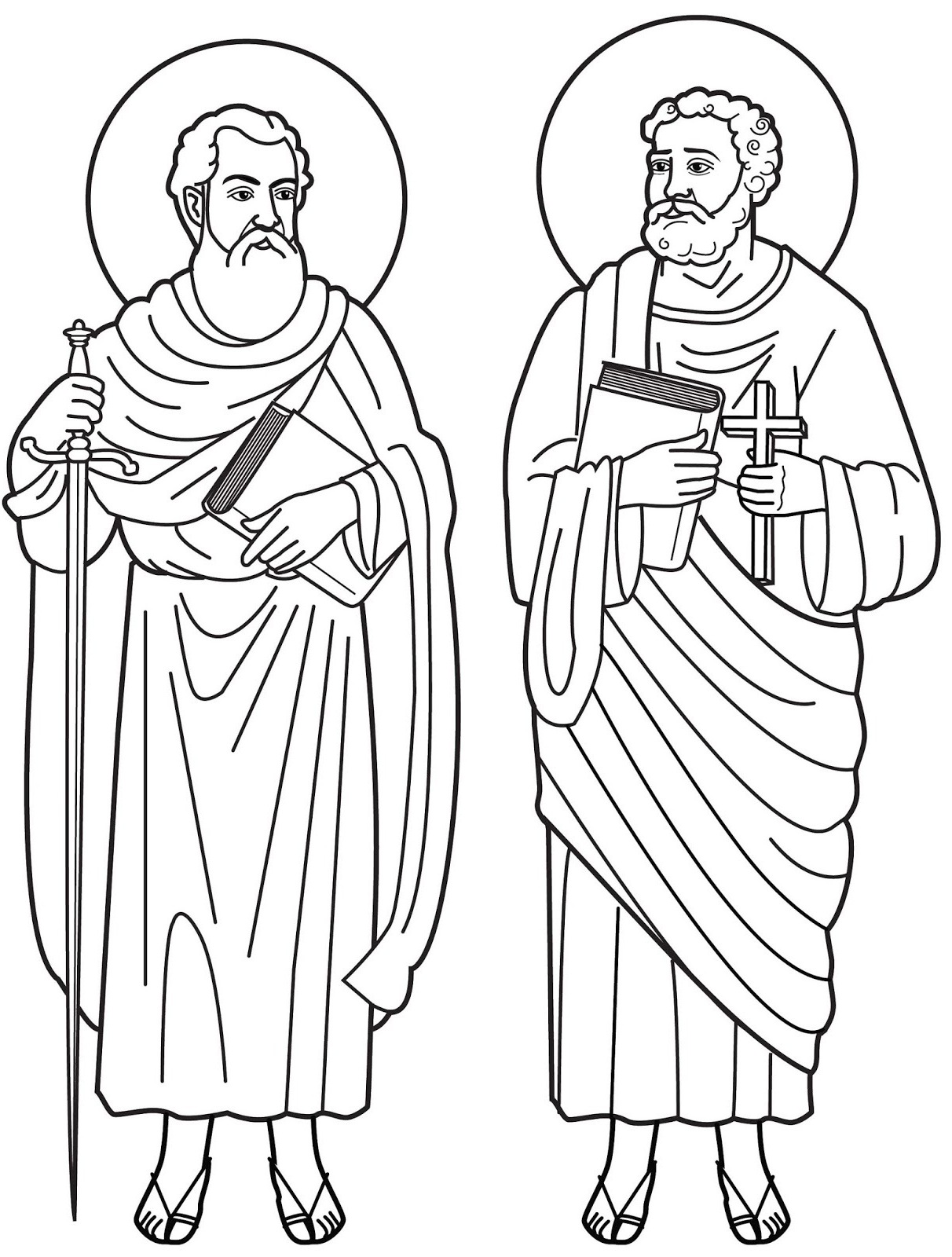 st peter coloring pages - photo#10