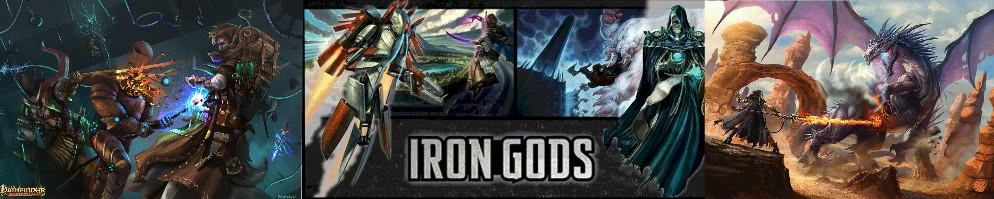 Iron gods banner