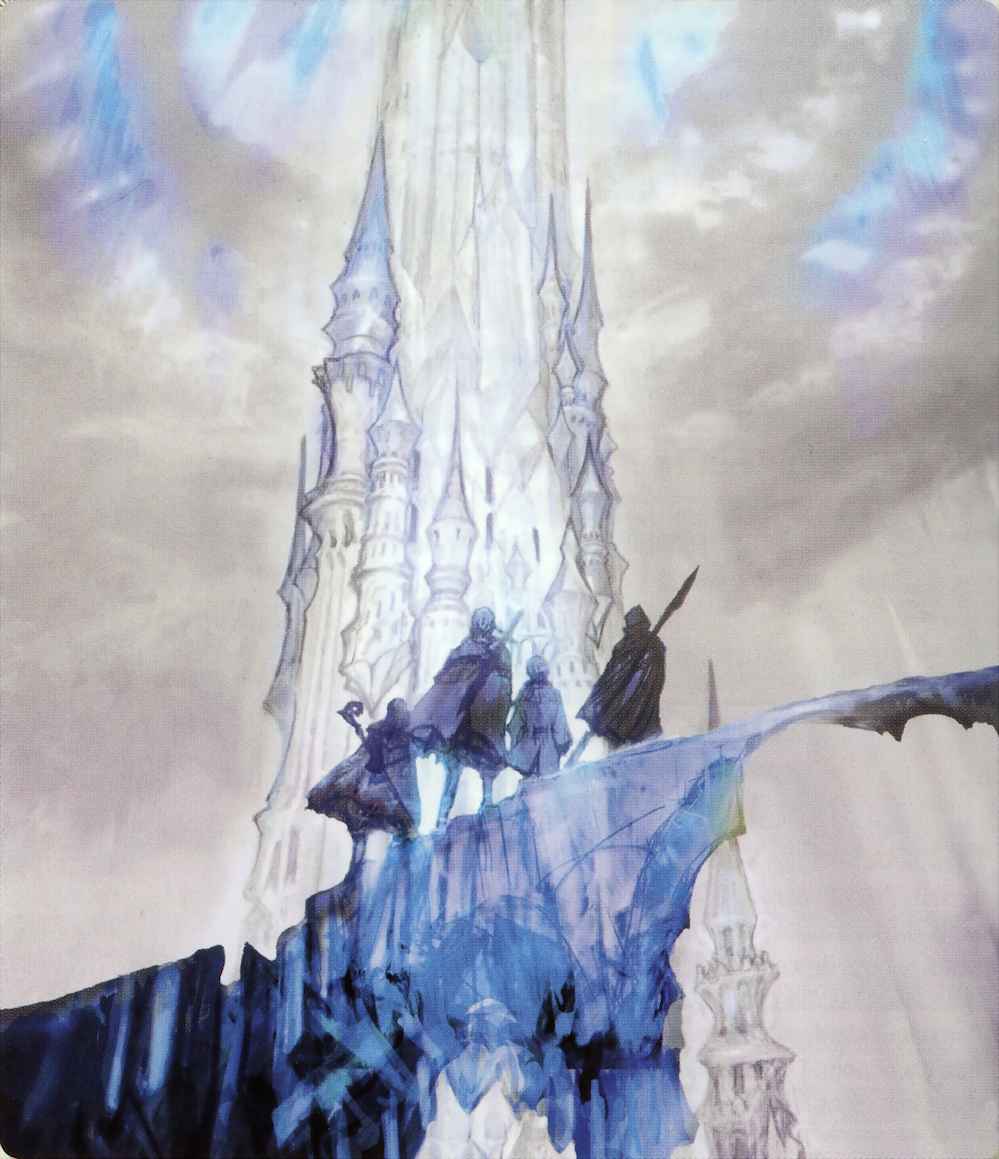 Crystal tower artwork