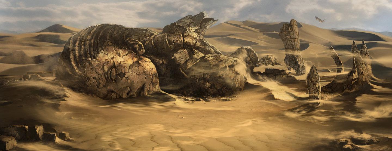 The desert by atomhawk d3eflww