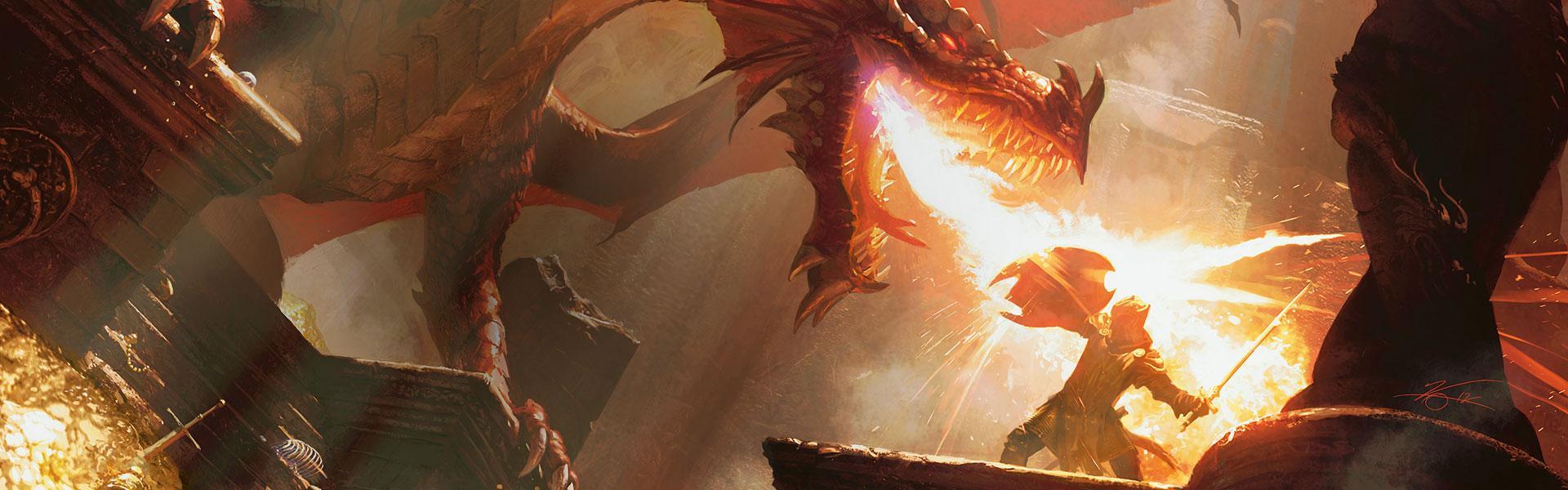 Dragonflame banner