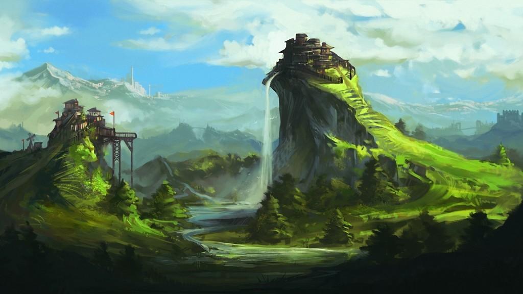 Fantasy landscape 1