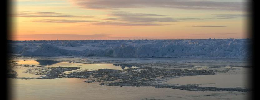 Antarctica banner landscape