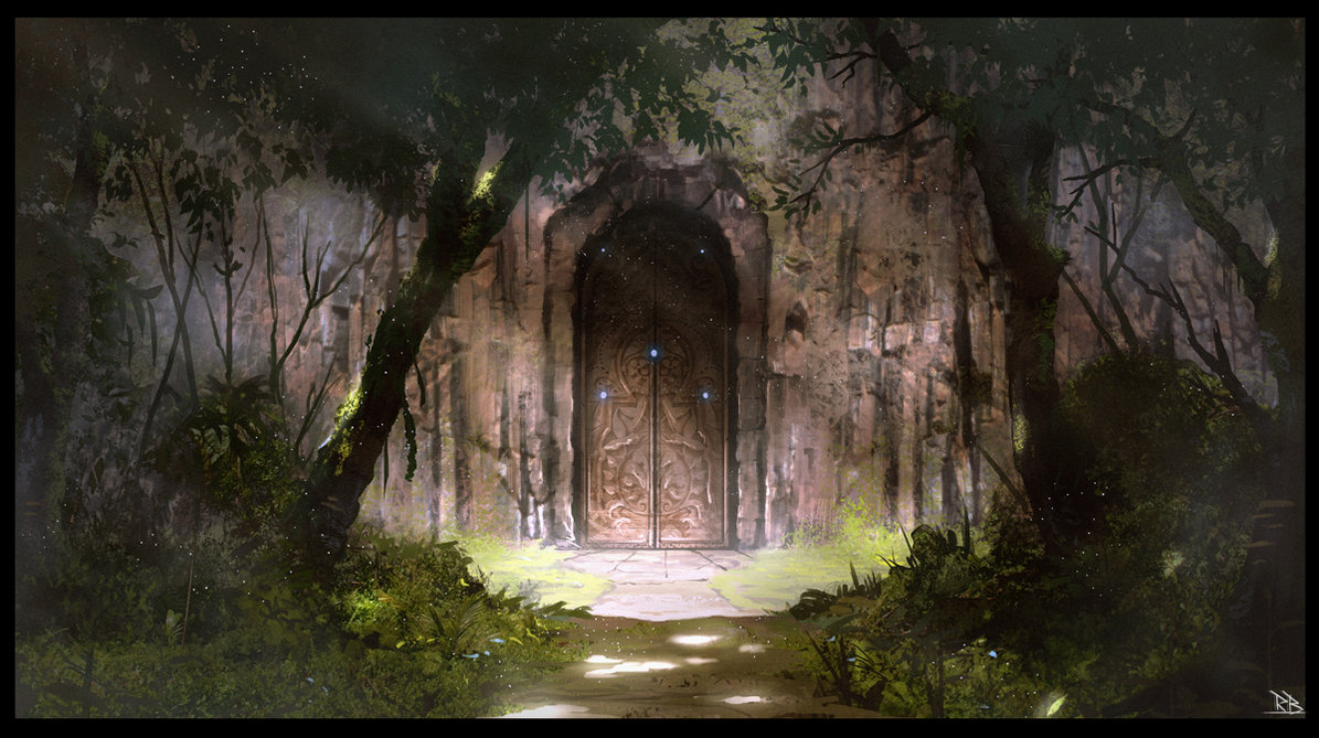 The hidden door by rogierb d88b9ps