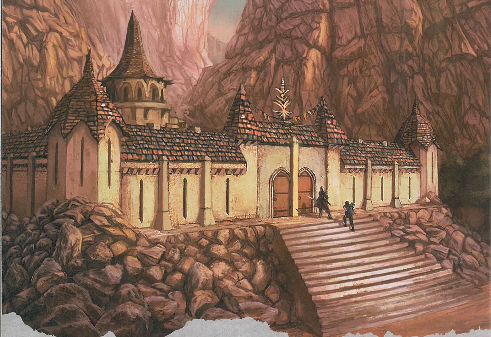 Sacred Stone Monastery | Princes of the Apocalypse (TN 5e