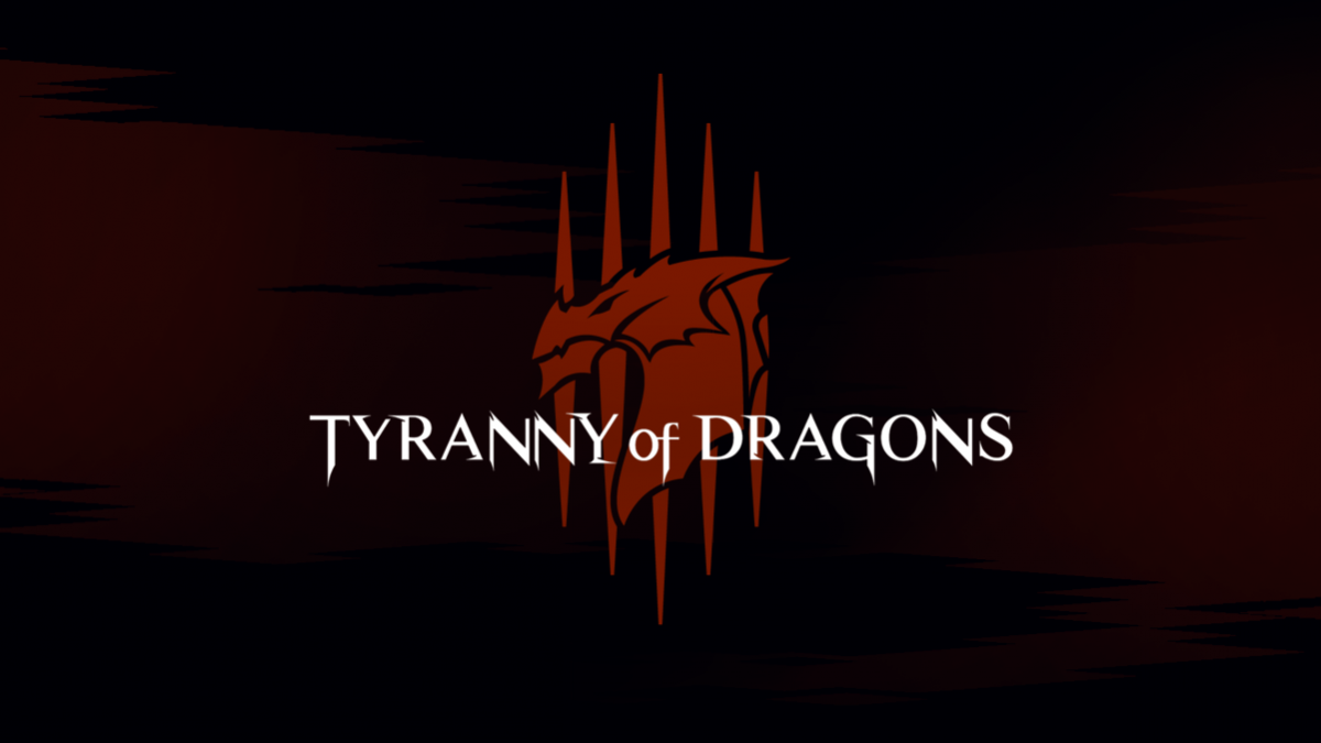 Tyrany of dragons logo