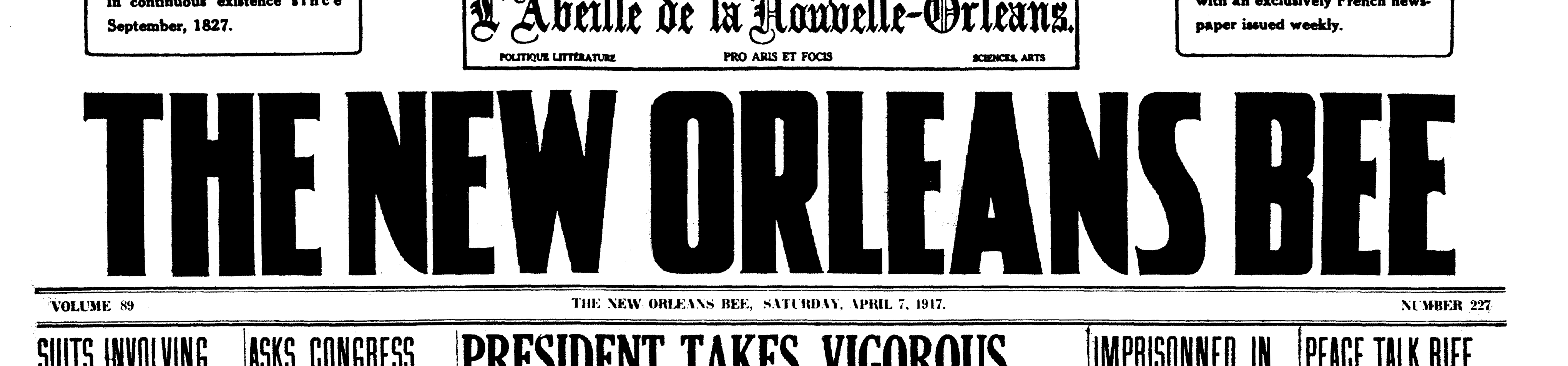 New_Orleans_Bee_1917_04_07_frontpage.png