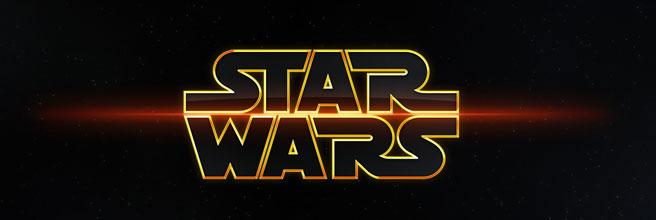 Star wars banner logo