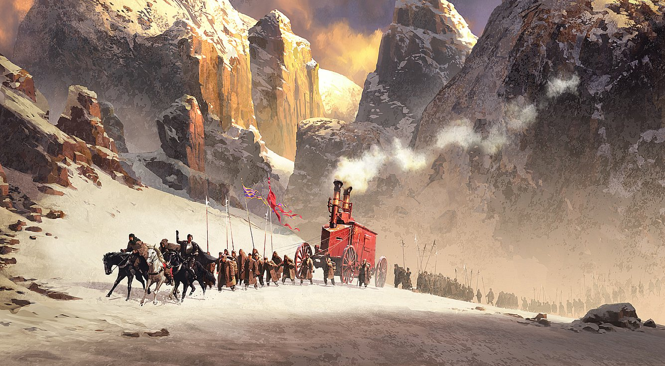 1335x735_8523_Mountain_pass_2d_illustration_landscape_fantasy_army_mountains_snow_picture_image_digital_art.jpg