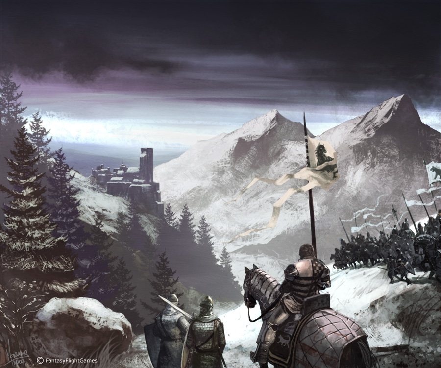 900x751 4171 vale packt stark 2d fantasy army castle picture image digital art