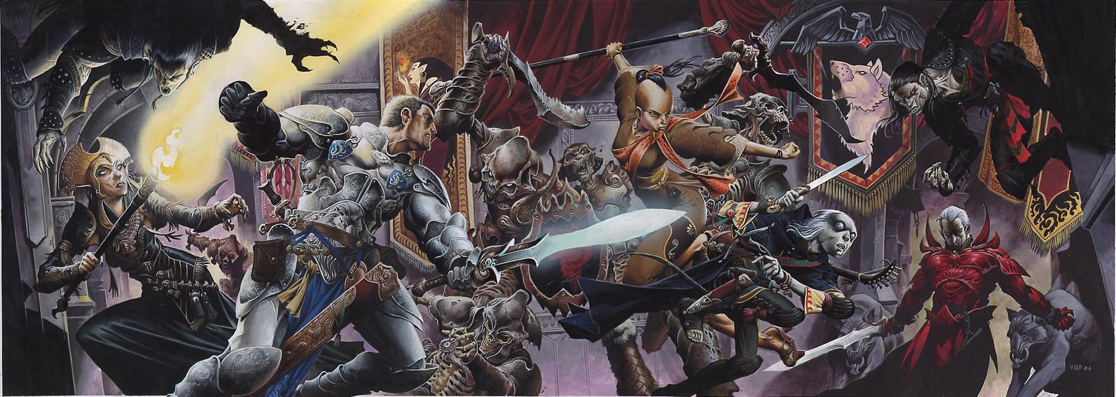Eberron banner fight