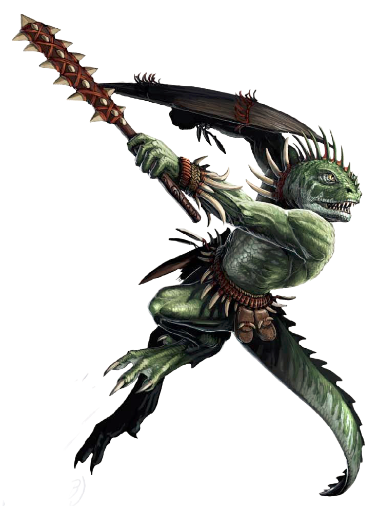Semuanya-Lizardfolk Deity of Survival | Tyranny of Dragons