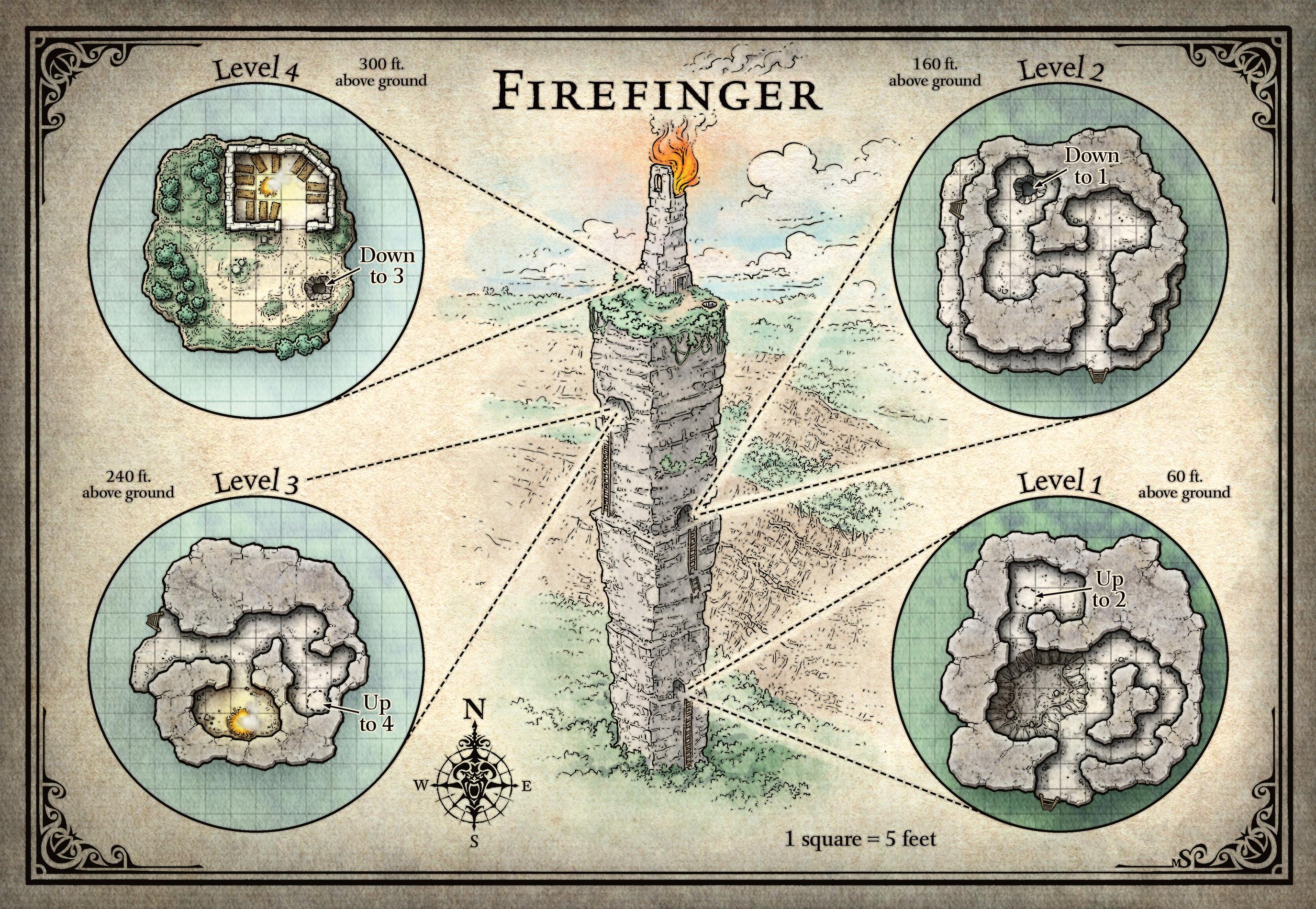 The Firefinger | Tomb of Annihilation | Obsidian Portal