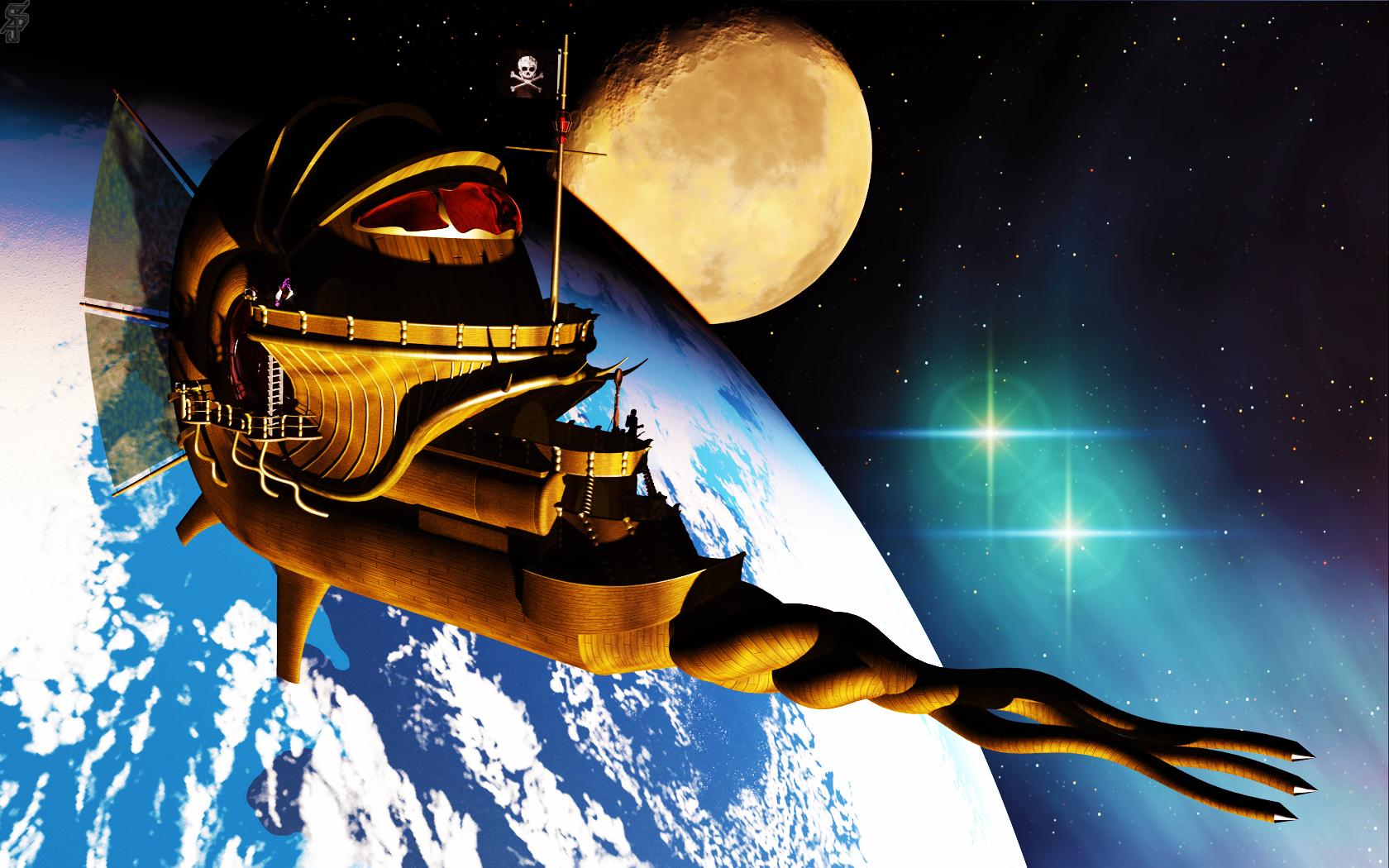 Sj nautiloid planet by silverbladete d5gh0n2