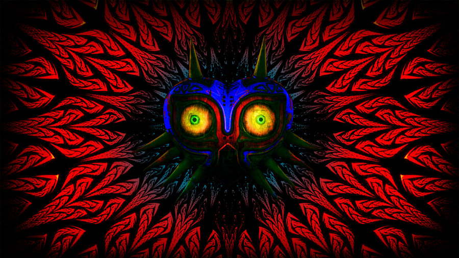 Majora s mask wallpaper by macgrubor d5xvo4v