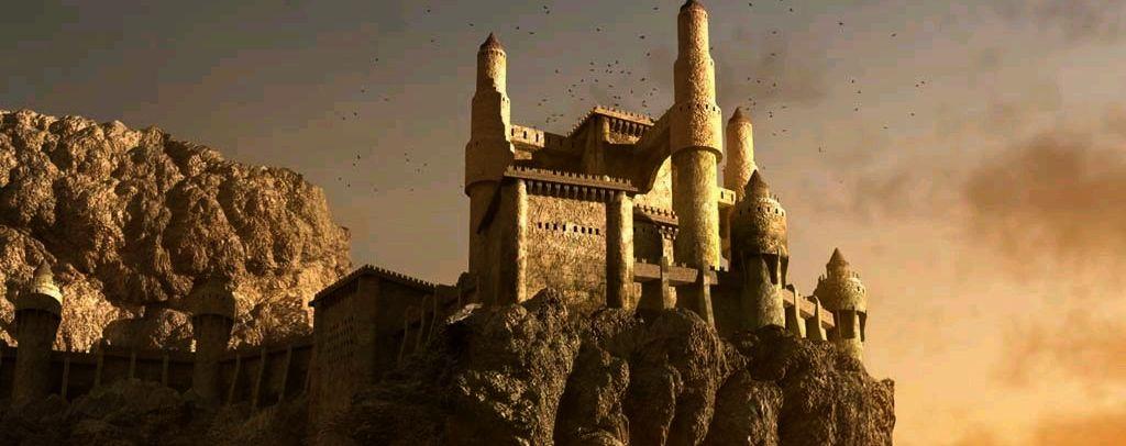 Castle on mountain2