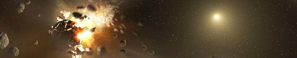 Asteroid belt explode resize