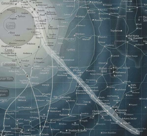Hyperspace Route | Star Wars: Lost Legend | Obsidian Portal