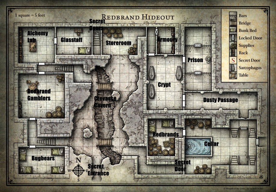 Epic image with regard to redbrand hideout map printable