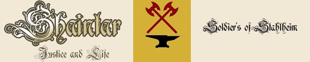 Shaintar soldiers of stahlheim banner