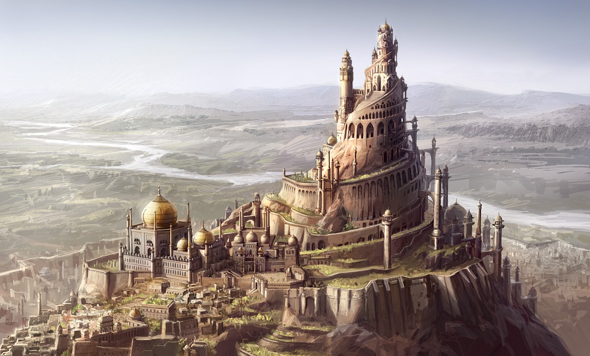 1200x723_14816_Concept_art_for_Prince_of_Persia_Sands_of_time_2d_fantasy_tower_prince_of_persia_city_picture_image_digital_art.jpg
