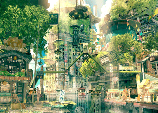 fantasy-wallpaper-Japan_Forest_City_Art.png