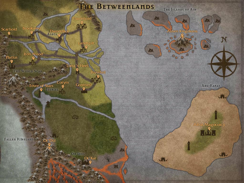 Names map