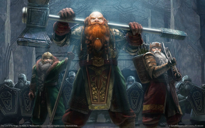 Dwarves from 'The Battle for Middle-earth II'