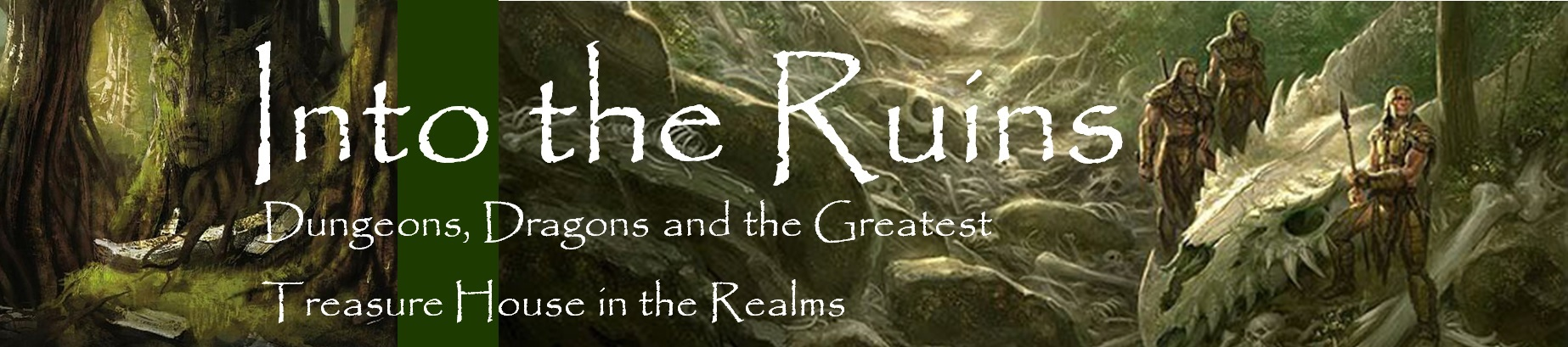 Into the ruins banner