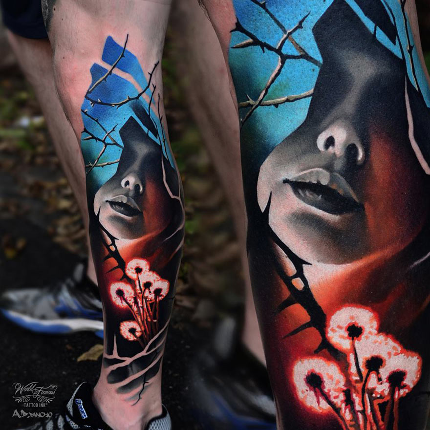 face-glowing-flowers-leg-tattoo.jpg