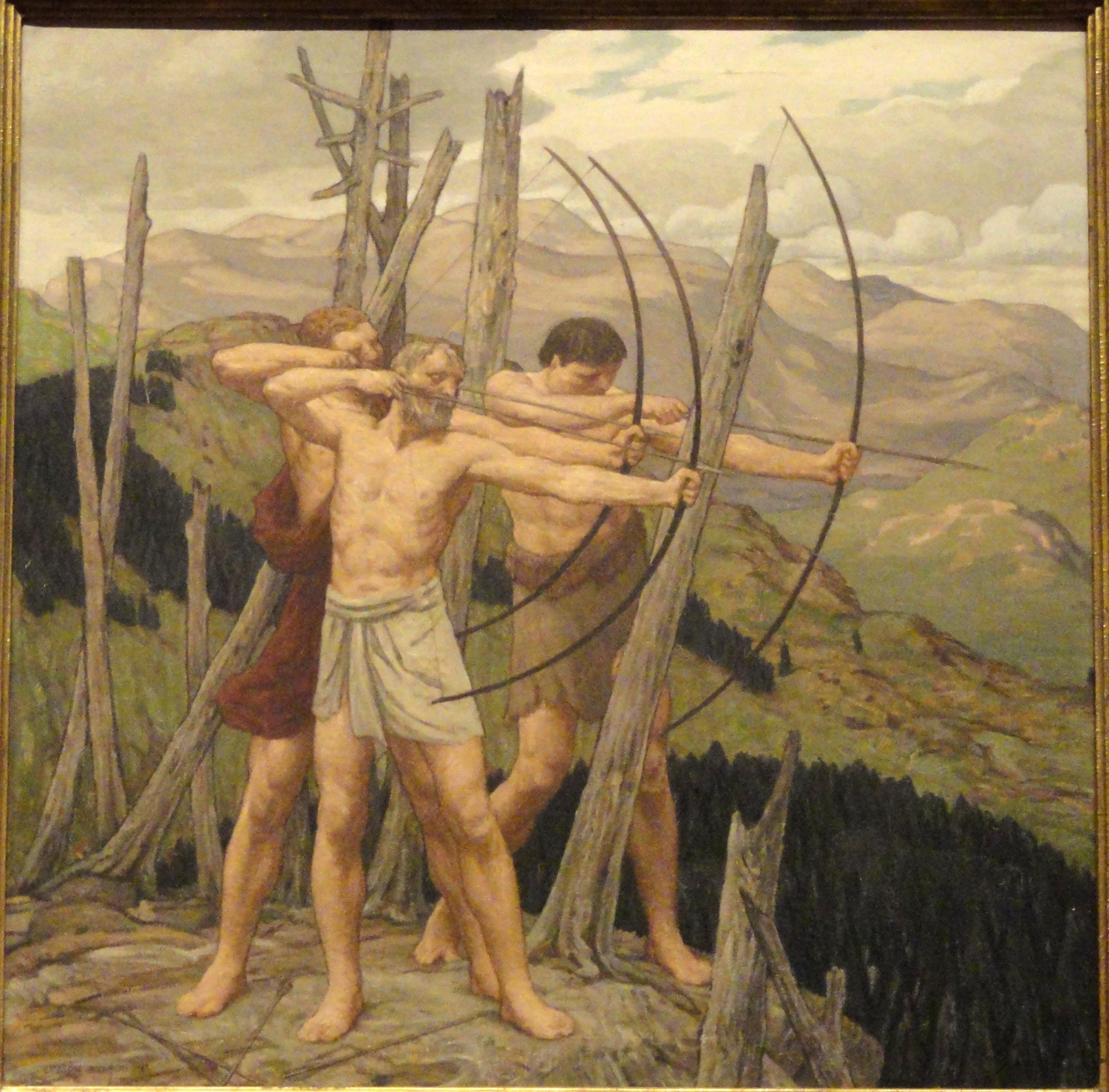 The_Archers_by_Bryson_Burroughs_-_Renwick_Gallery_-_DSC08383.JPG