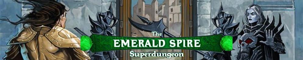 Emerald spire banner