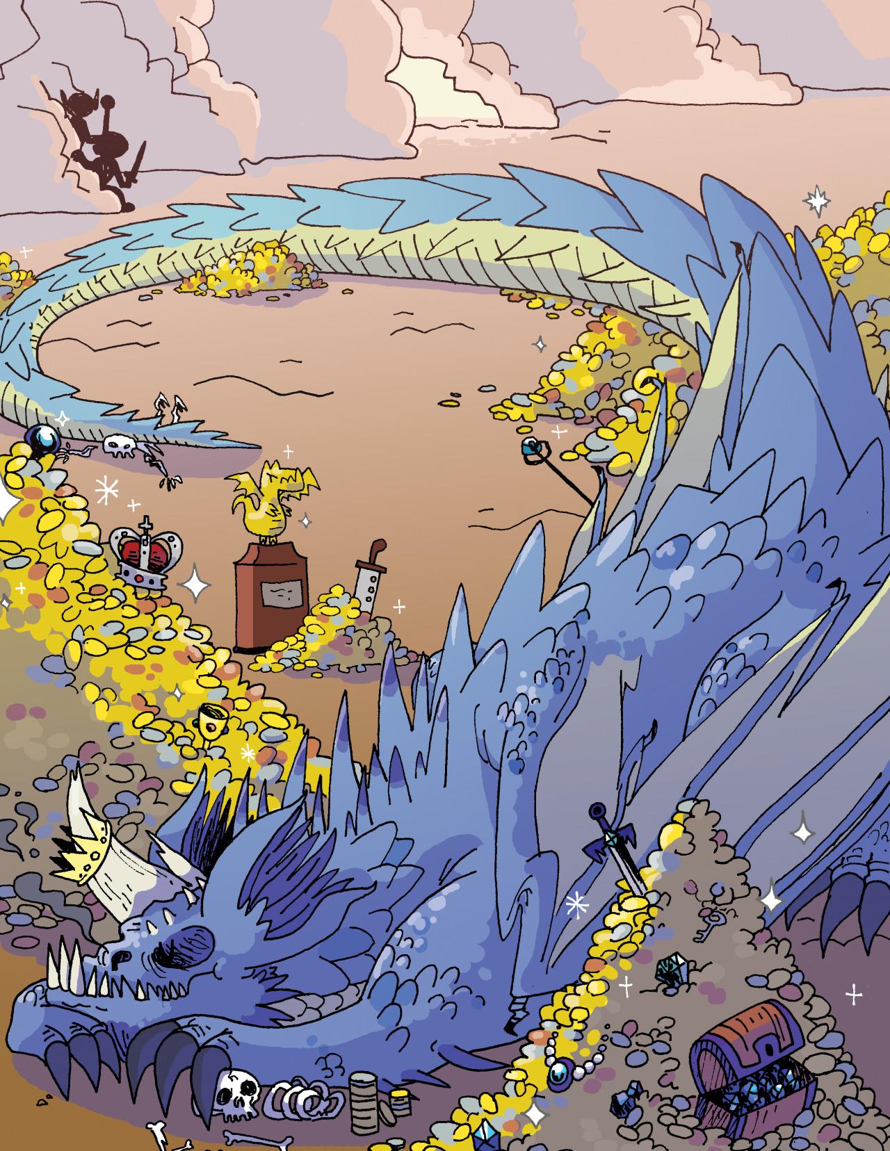 Dragons hoard