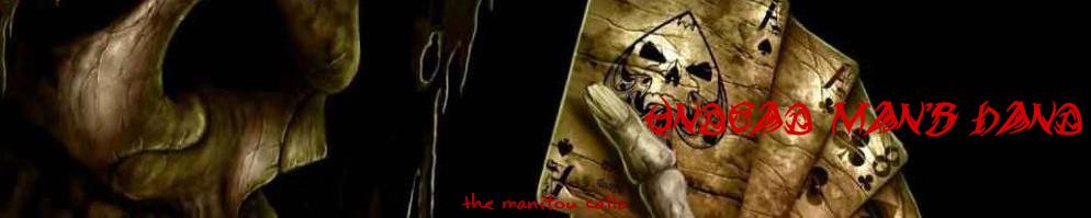 Undead mans hand banner
