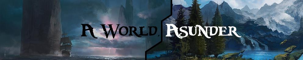A world asunder banner